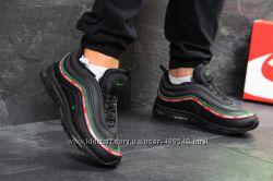 Зимние мужские кроссовки Nike Air Max 97  black 6754