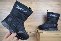 Зимние женские сапоги Reebok black