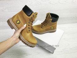 Зимние женские ботинки Timberland ginger