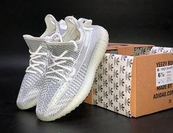 Кроссовки мужские Adidas Yeezy Boost 350 v2 , белые