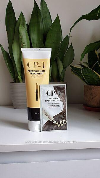 Протеиновая восстанавливающа маска для волос с керамидами CP-1 Premium 12мл