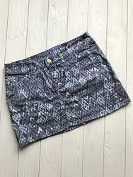 Джинсовая женская мини юбка H&M