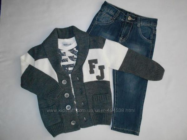 Кофта, реглан, джинсы