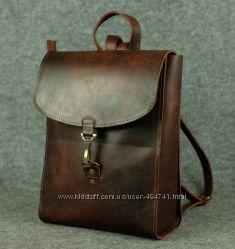 Кожаный рюкзак Венеция. Цвета разные.