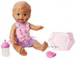 Кукла Little Mommy Drink & Wet с карими глазами