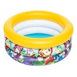 Надувной детский бассейн intex mickey mouse