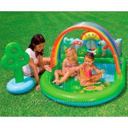 Детский надувной игровой центр intex