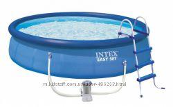 Надувной бассейн intex easy set pool 457122 см