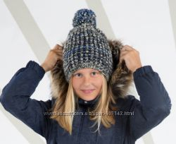 Зимние шапки Lenne без завязок девочкам, новая зима 2019