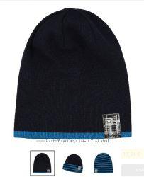 Зимние шапки Lenne без завязок мальчикам, новая зима 2018-19