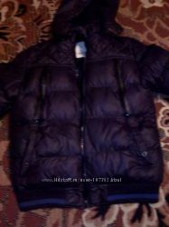 Стильная фирменная мужская зимняя куртка