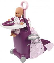 Набор для ухода за куклой Раскладной Чемодан. Прованс Baby Nurse Smoby