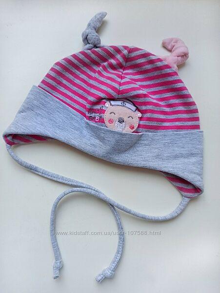 Трикотажна шапочка для дівчинки Raster