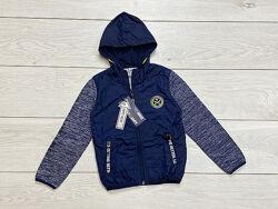 Демисезонная лёгкая куртка ветровка для мальчика. 4-12 лет