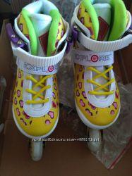Роликовые коньки от тм EXPLORE ToP Girls  32-35. 36-39