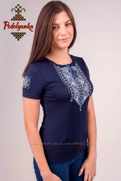 Жіноча футболка-вишиванка Лоза