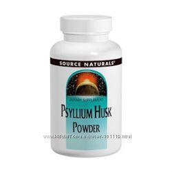 Клетчатка растворимая Psyllium Husk США, Порошок из шелухи семян подорожник