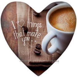Подушка-сердце ко дню влюбленных