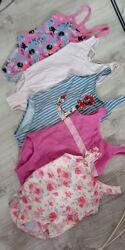 купальники  для девочек  1-3-7 лет