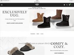 Выкуп с официального сайта Ugg