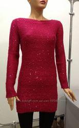 Платье-туника малиновое Tally Weijl размеры S, XXS