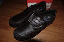 Туфли Pablosky на мальчика, кожа, темно-коричневые, 39 и 40р