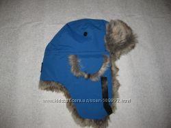 8-12 лет, зимняя термо шапка ушанка PolarnO. Pyret