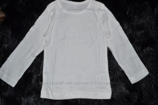 Набор из 3 футболок с длинным рукавом Mothercare для мальчика 12-18 м