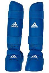 Защита голени и стопы Adidas для Каратэ WKF.