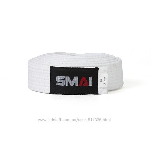 Пояс Smai для боевых искусств. Белый.