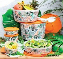 Набор контейнеров Иллюмина Тропикана 7 штук Tupperware