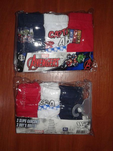 Трусики Avengers Супергерои 3 шт разный возраст