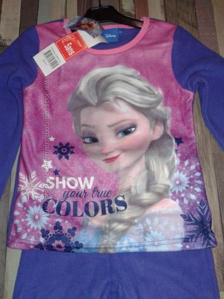 Disney Флисовая пижамка Frozen  4, 5, 6 и 8 лет Англия