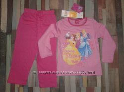 Disney Princess пижамка Англия на 3 и на 4 года