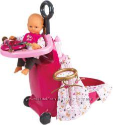 Игровой набор Smoby Baby Nurse Раскладной чемодан с аксессуарами 220316