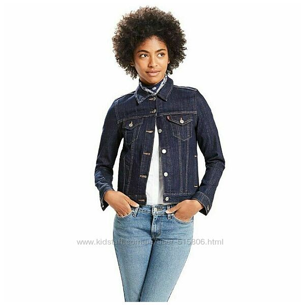 LEVIS джинсовая куртка оригинал из США р. M