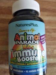 Natures Plus Animal Parade Immune Booster витамины с ацидофильными бактерия