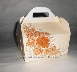 Коробка для каравая и торта. Бонбоньерки.