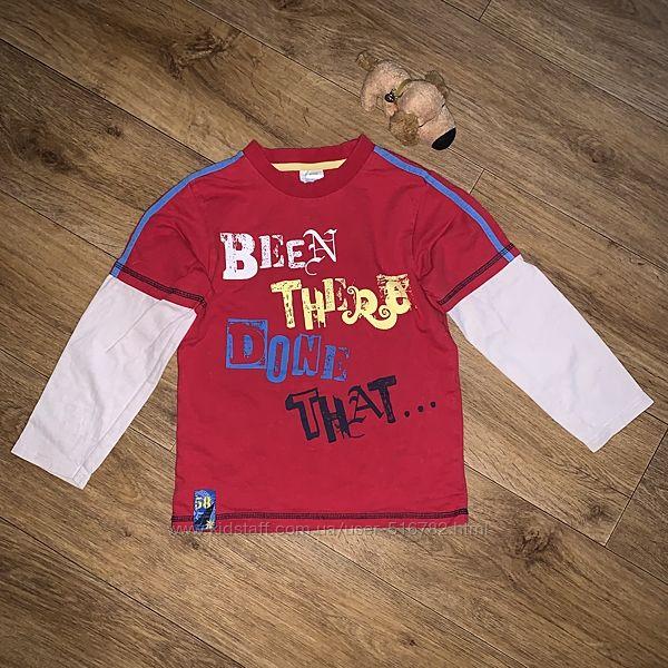 Яркая футболка с длинным рукавом 6,7,8 лет M&Co kids
