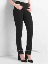 Джинсы Gap mid rise classic straight jeans