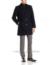 Пальто Tommy Hilfiger Mens Bruce 36 Inch Single Breasted Wool Top Coat