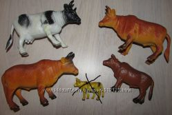 Фигурки диких и домашних животных