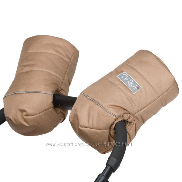 Зимняя муфта рукавички, универсальная на овчинке.