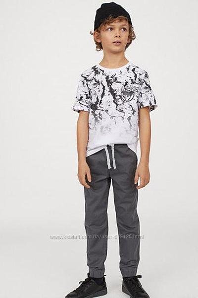 Бавовняні джоггери для хлопців 3-8 років від фірми H&M Швеція