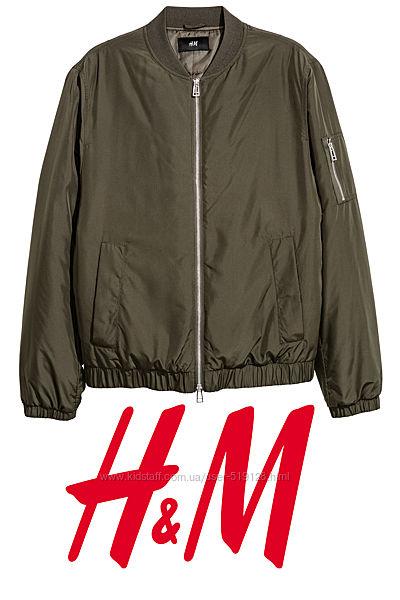 Куртка бомбер чоловіча розмір S від H&M Швеція