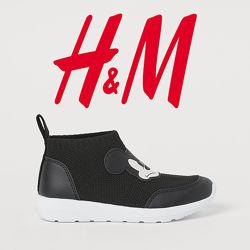 Легкі кросівки грубої вязки для хлопців 25-31 розмір від H&M Швеція