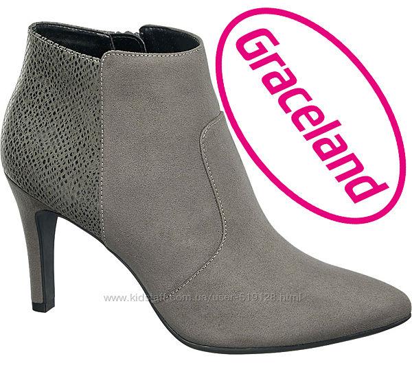 Жіночі черевики на високому каблуку 40р від Graceland Німеччина