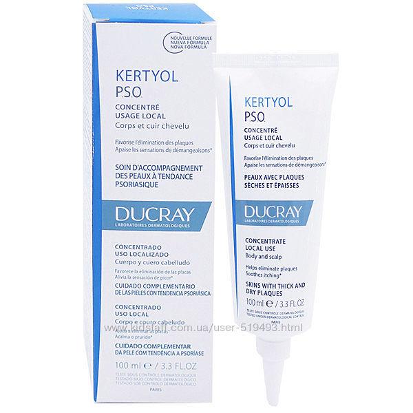 Концентрат Крем Дюкрей Кертиол ПСО для кожи от чешуек Ducray Kertyol P. S. O. Cream Concentre Usage Local 100мл
