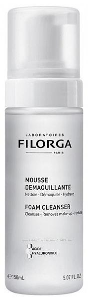 Очищающая Пенка Мусс с гиалуроновой кис-той Филорга для очищения кожи Filorga Mousse Demaquillante 150мл