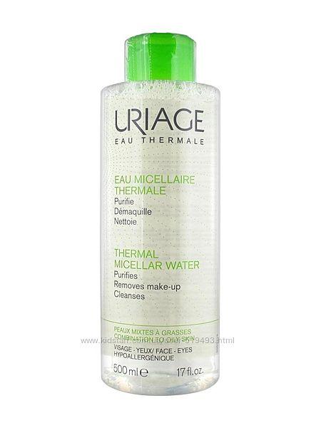 Мицеллярная вода Урьяж для комбинированной и жирной кожи Uriage Thermal Micellar Water Combination Oily 500мл